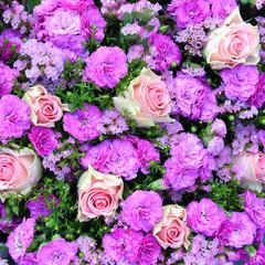 Blumen, Hintergrund, rosa, pink