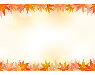 シームレスな秋のフレーム