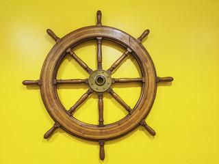 Rudder wheel