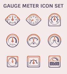 gauge meter icon