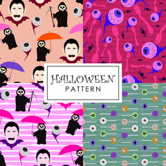Halloween pattern set collections