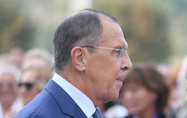 Russia's Foreign Minister Sergei Lavrov visits Banja Luka