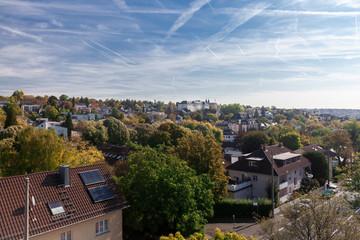 Blick über Wiesbaden