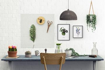 Botanical studio - workspace