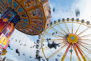 Oktoberfest München Riesenrad