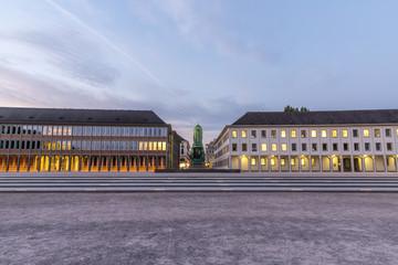 Schlossplatz in Karlsruhe