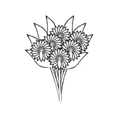 bouquet of flowers design
