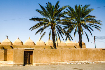 The 52-domed Jami al Hamoda mosque in Jaalan Bani Bu Ali, in Oman