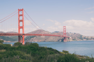 San Francisco Golden Gate Bridge, USA