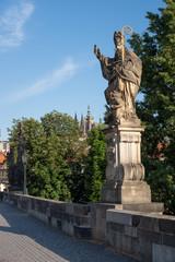 Prague Charles Bridge Statue