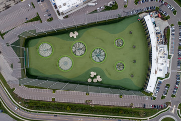 Driving Range from Above