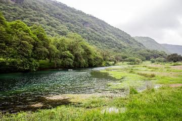 Landschaft Oman Wadi Darbat