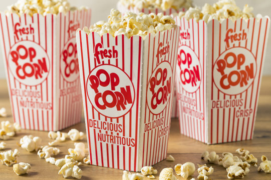 Classic Buttery Movie Theater Popcorn