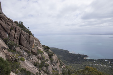 Paysage du Freycinet National Park en Tasmanie, Australie