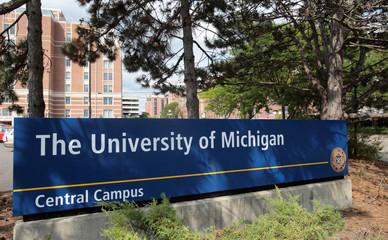 The University of Michigan campus in Ann Arbor