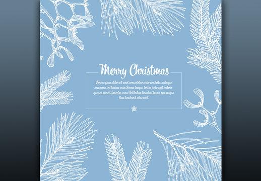 Christmas Card Layout