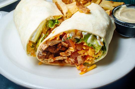 Spicy Mexican Burrito