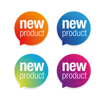 New Product label tag