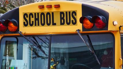 Schulbus - Amerikanischer School-Bus (Ausschnitt)