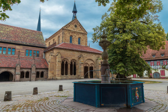 View from the front of Maulbronn Monasteries
