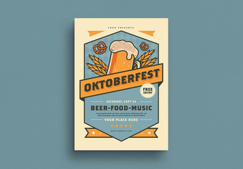 Oktoberfest Event Flyer Layout