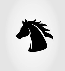 Head Horse Logo, art vector design