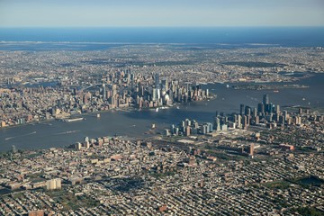 Fotomurales - New York City Aerial view