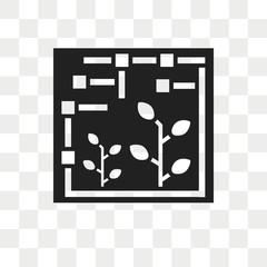 Farming vector icon isolated on transparent background, Farming logo design