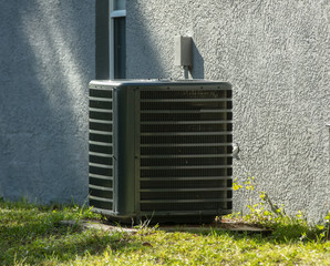 air conditioner has been serviced and is running strong