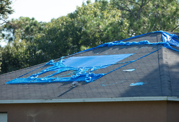 high winds and hurricane damage has caused leaks in your roof