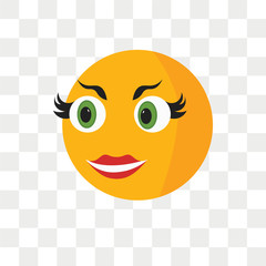 Greed smile vector icon isolated on transparent background, Greed smile logo design