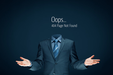 Http 404 error page