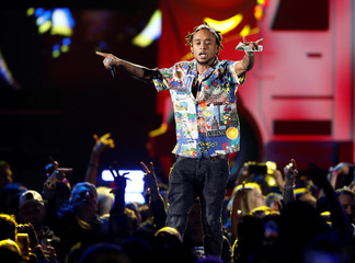 Rae Sremmurd performs during the iHeartRadio Music Festival at T-Mobile Arena in Las Vegas
