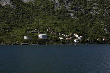 Perast in Boka Kotorska bay