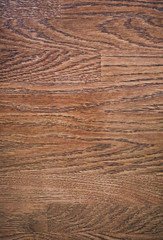 Dark brown natural wooden background. Panels decorative texture.