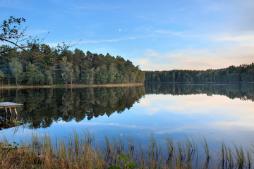 Bukowskie Lake in Poland