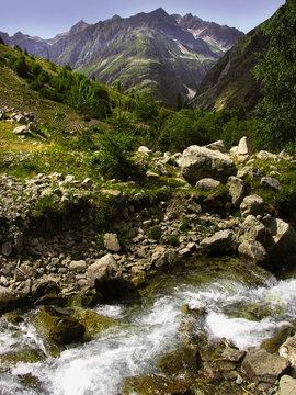 france alps provence haute-alpes le champsaur nr.gap waterfall