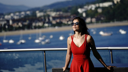 "French actor Laetitia Casta takes part in a photocall to promote the feature film ""A Faithful Man"" at the San Sebastian Film Festival"