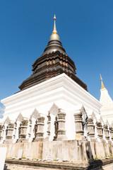 the beautiful pagoda at Wat Ban den, Chiangmai, Thailand