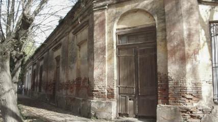 Old abandoned corner