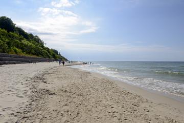 Plaża wJastrzębiej Górze