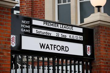 Premier League - Fulham v Watford