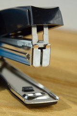 Black Stapler close up Shallow Depth of Field