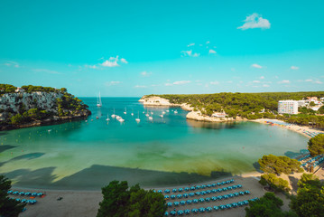 Cala Galdana, Menroca, Balearic Islands, Spain
