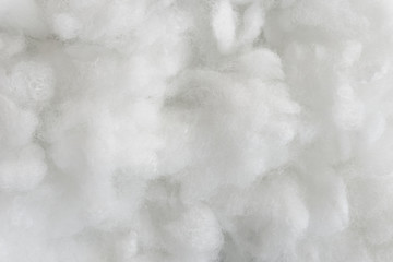 White cotton texture is soft, fluffy wadding background Fototapete
