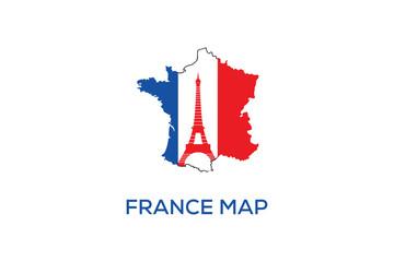FRANCE MAP DESIGN