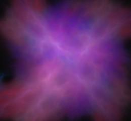 Purple blue pink fractal.Fantasy fractal texture. Digital art. 3D rendering. Computer generated image.