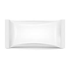 Flow pack isolated on white background. Vector illustration.