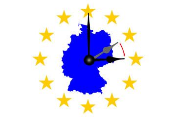 Deutschland Zeitumstellung