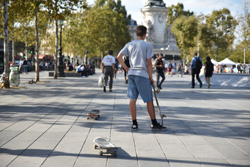 Faire du skate à Paris